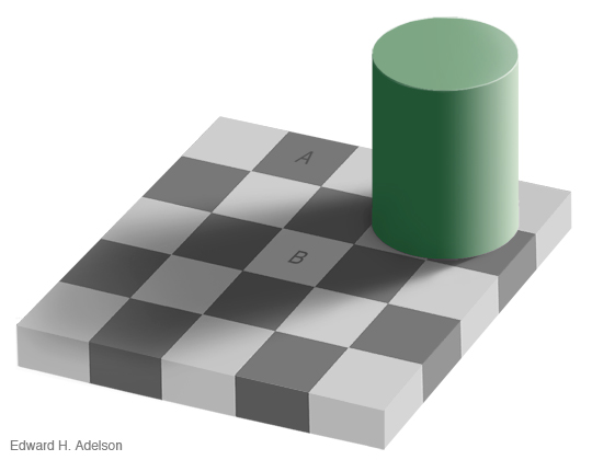 Checkershadow Illusion