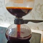 Coffee coming down