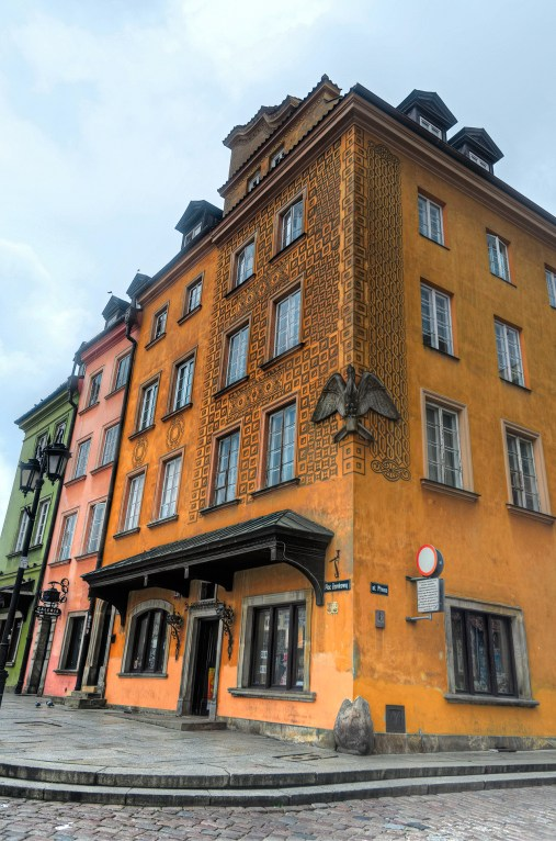 Buildings, Old Town Warsaw