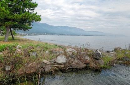 Lake Biwa Coastline, Japan