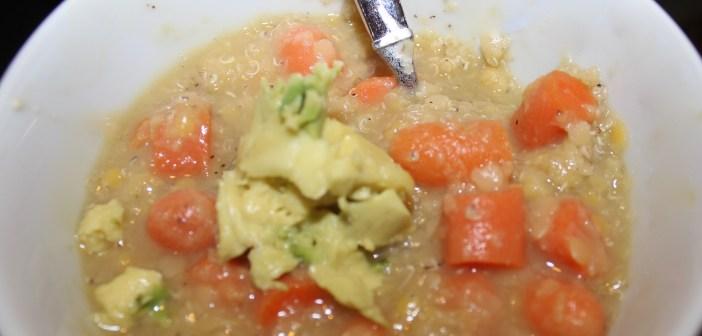 TSJ's Quinoa Lentil Soup