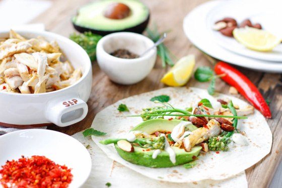Healthy Chicken Fajitas Recipe from The-fit-foodie.com