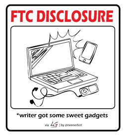 ftc gadgets 250 Privacy Policy & Disclosure