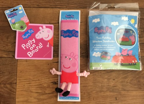 Peppa travel accessories