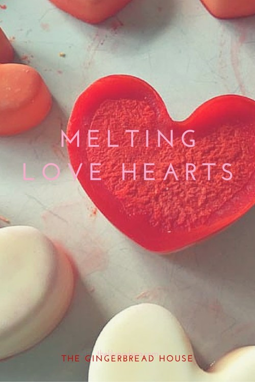 simple melting love hearts science experiments for kids