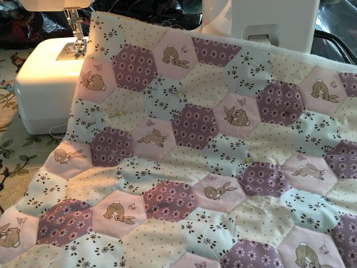 Belle and Boo mini quilt