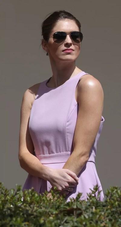 Hope Hicks: Donald Trump's Girlfriend? The Internet Thinks ...