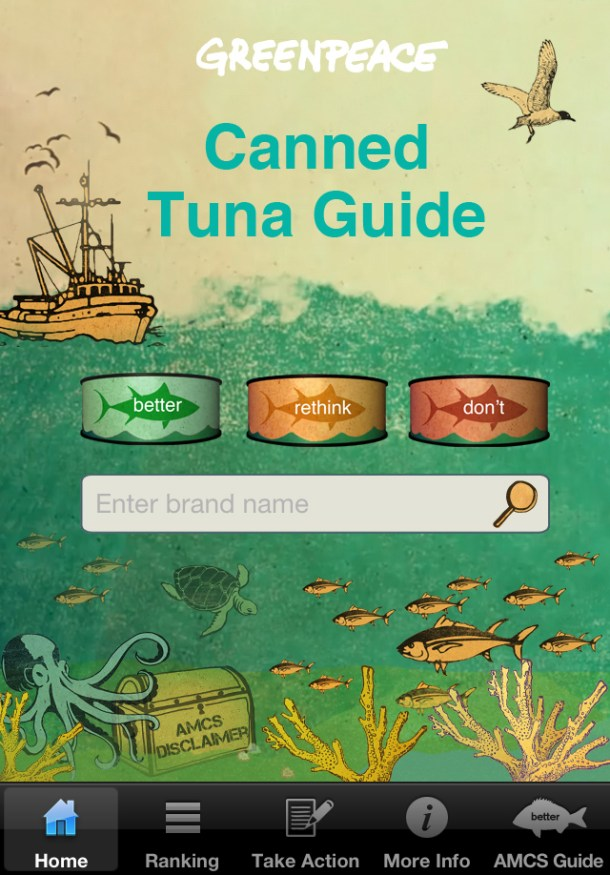 Greenpeace: Tuna app