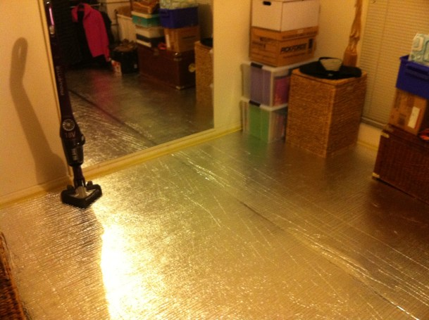 How to Seal a Room With Foil