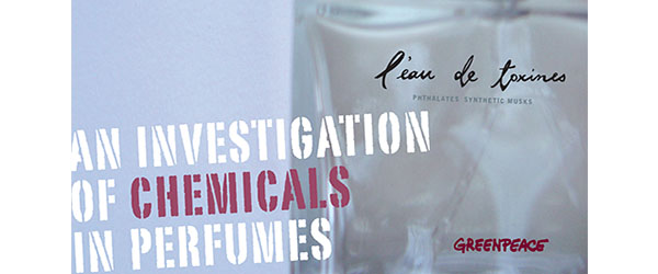Greenpeace Investigation of Chemicals in Perfumes