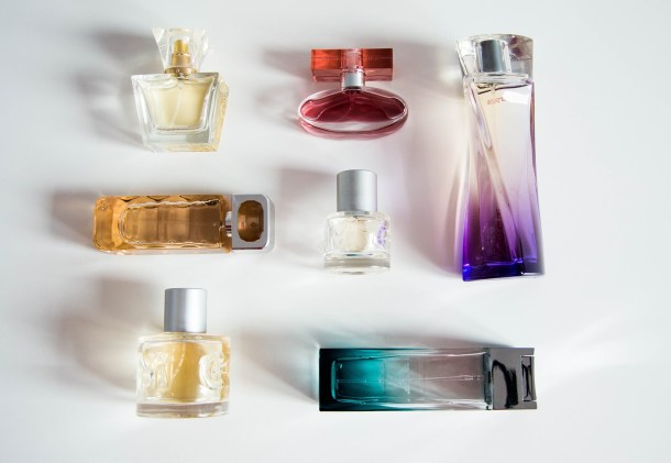 perfumes with fragrance chemical irritants as ingredients, which exacerbate allergies and chemical sensitivities. Go free from fragrance for your own health and that of others