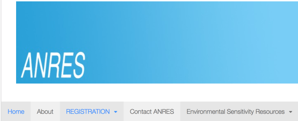 ANRES Australian National Register of Environmental Sensitivities