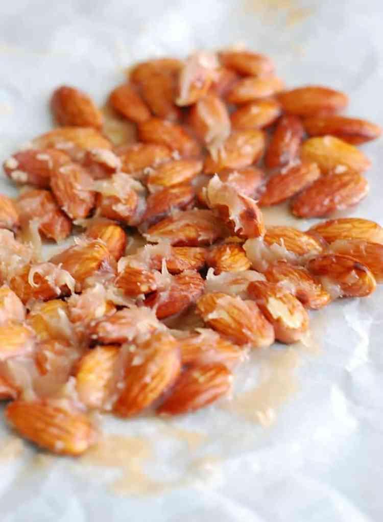 Caramel + Almonds = LOVE