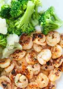 Simple Italian Shrimp