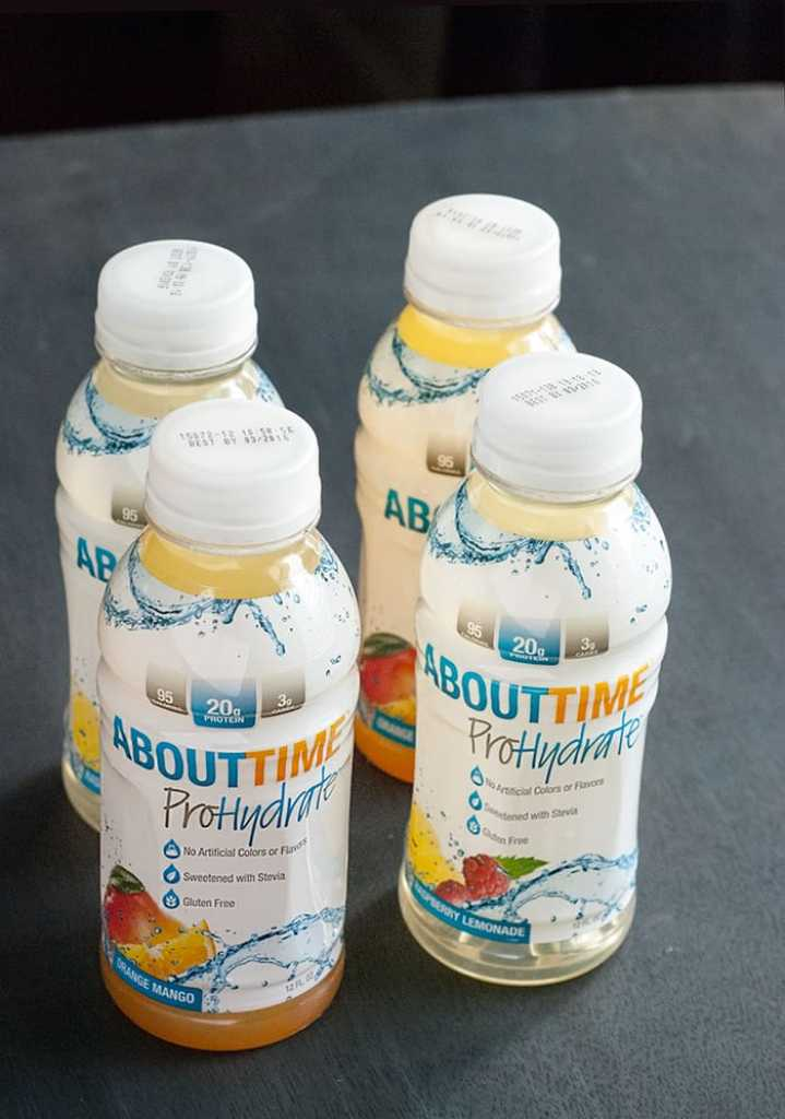A resourceful and honest review of About Time's ProHydrate protein drink.