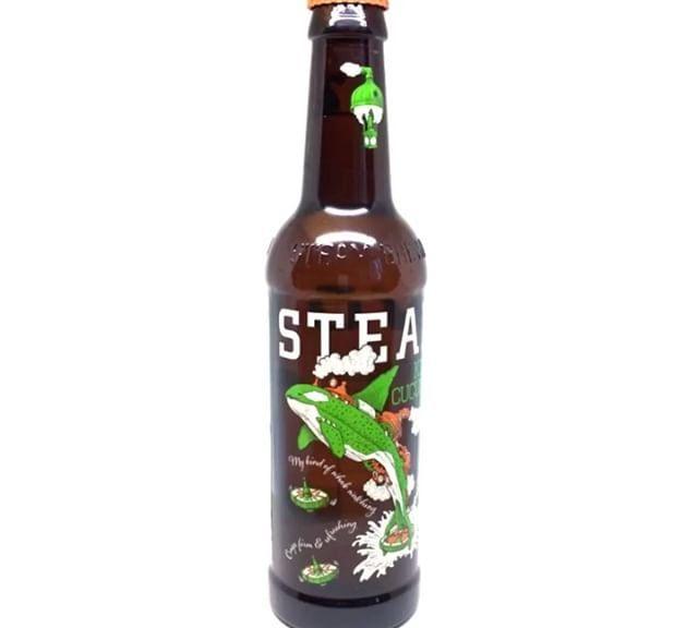 Gurkenbier von @steamworksbeer beim @bierbotschafterhamm gekauft. Hübsches Design und ausnahmsweise nicht dazu da um vom Inhalt abzulenken. Gurkenbier: ️️️️️️️️️