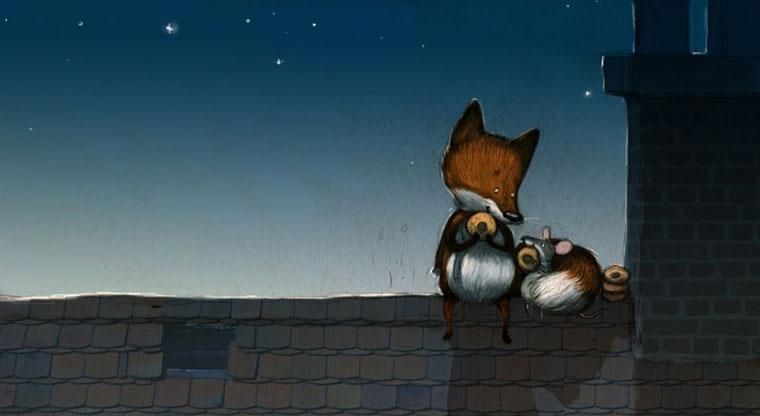 30 иллюстраций: совсем не хитрые лисы