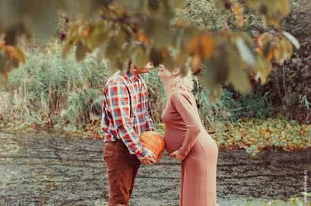 Осеннее чудо: Наташа, Дима и их будущая малышка