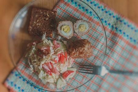 Готовим вместе: мясные колобки с перепелиным яйцом