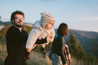 День семейной прогулки: Ник, Василиса и Кимми