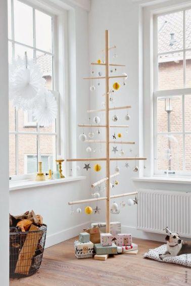 Необычные альтернативы классической новогодней ёлке