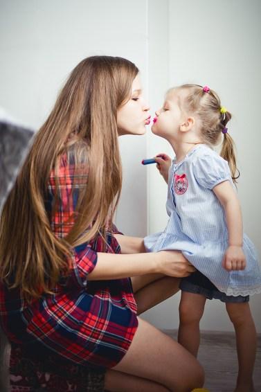 Счастье быть мамой Галя и очаровательная Уля (1)