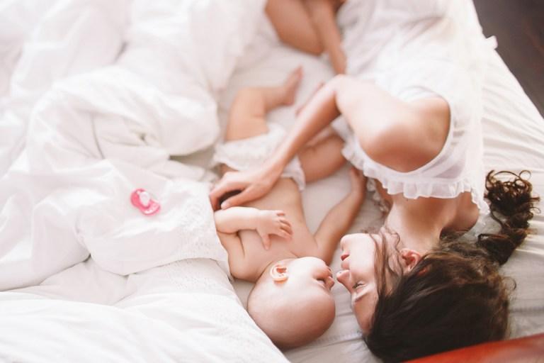 Портрет любви: малышка Ирми и её мама