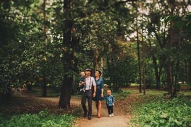 Оранжевое настроение уютная семейная съемка (12)
