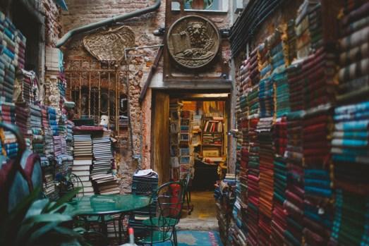 Libreria Acqua Alta: книжная лавка с душой