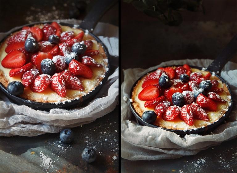 Готовим вместе: тарталетки с ягодами