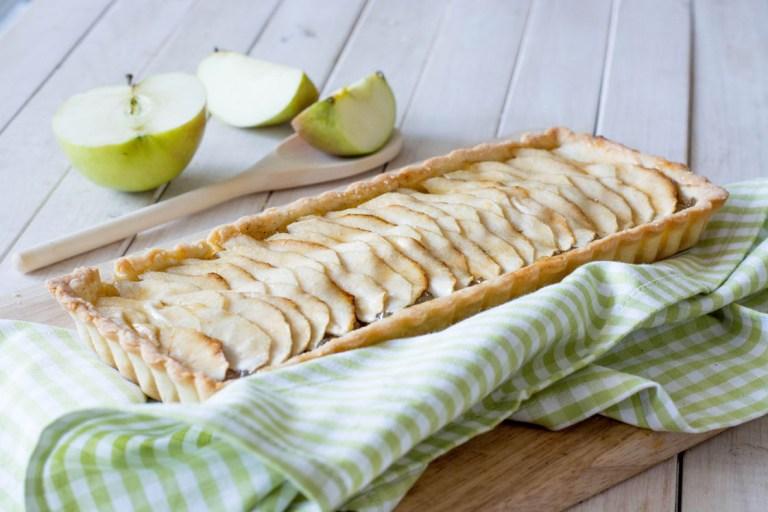 Готовим вместе: французский яблочный тарт