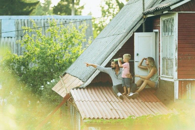 Лето в сердцах: семейная съемка Макса, Кати и Феди