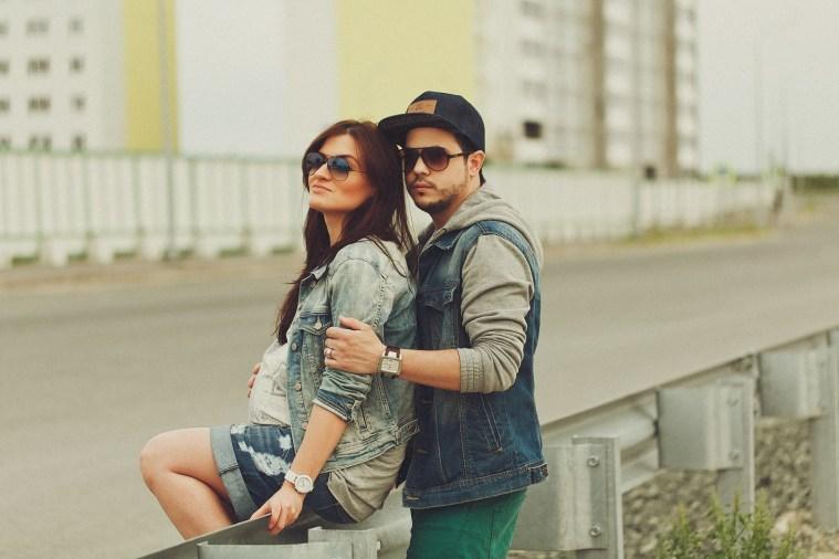 Молодые и счастливые Наташа и Миша в ожидании (9)