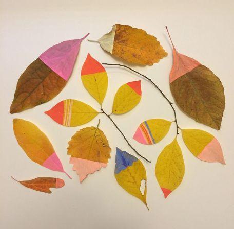 25 идей поделок из осенних листьев