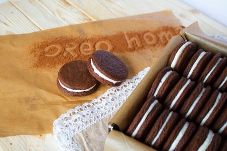 Рецепт домашнего печенья Орео