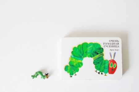 Книжная полка мамы: «Очень голодная гусеница»