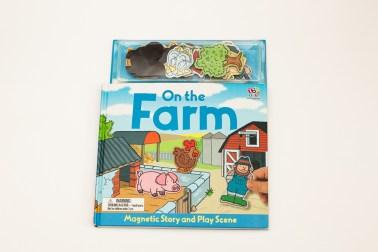 Knizhnaja polka mamy kniga-magnit On the farm (2)