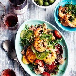 Salat s krevetkami ili kuricey (4)