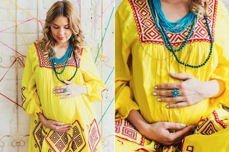 В ожидании Есении: съемка беременности Елены
