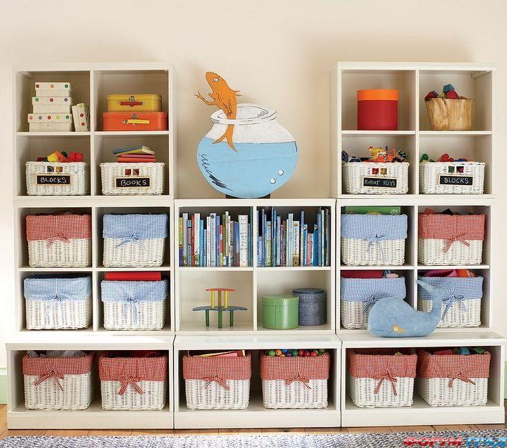 Хранение в детской: советы + 41 идея для вдохновения