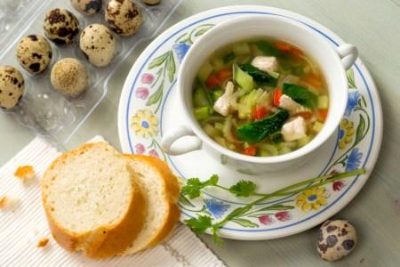 Рецепт супа с индейкой и овощами