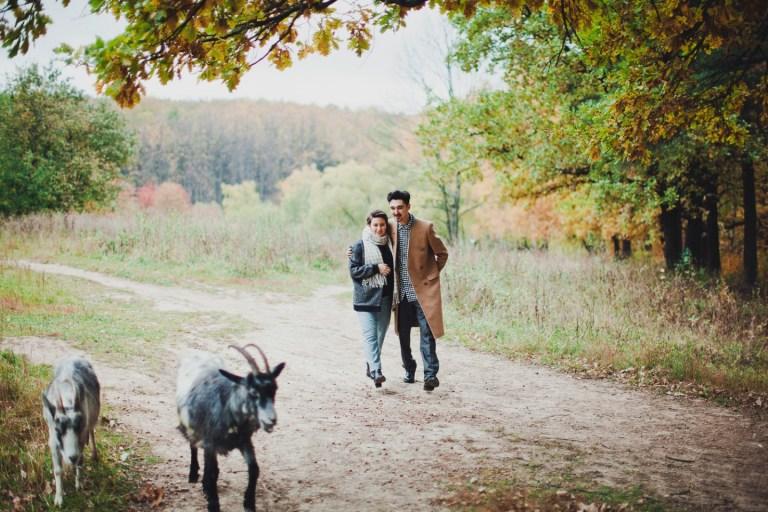Прогулка в парке: Оля и Андрей в ожидании чуда