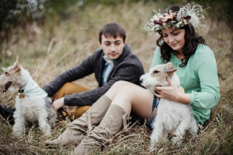 8 счастливых лап: фоксы Лили и Бакс