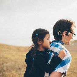 Наедине с природой: семейная съемка Ани и ее родителей