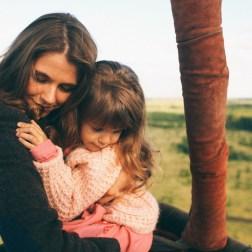 Маленькая волшебница Мирослава и ее мама
