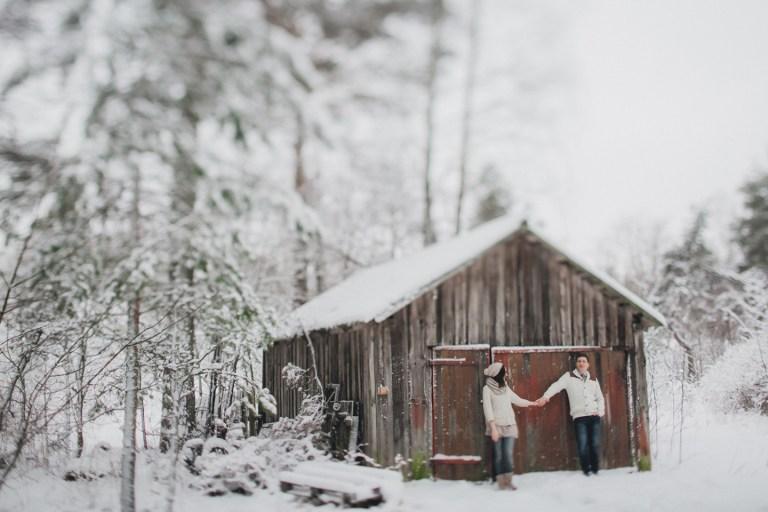 Снежная любовь: Вика и Паша