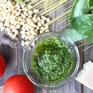 Рецепт соуса песто
