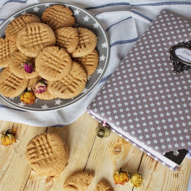 Рецепт арахисового печенья
