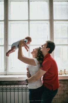 Настоящая семья: Мария, Виталий и крошка Леонид