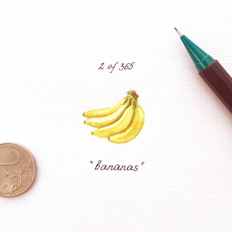 Еда в картинках: банан